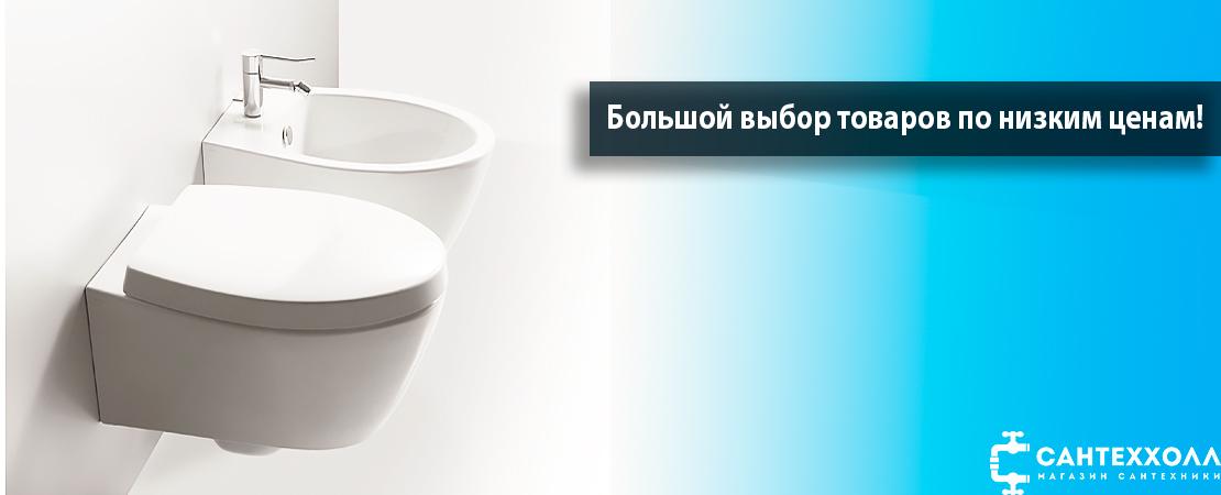 Купить биде в Астрахани очень просто в СантеХолл!